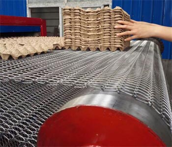 pulp molding dryer conveyor